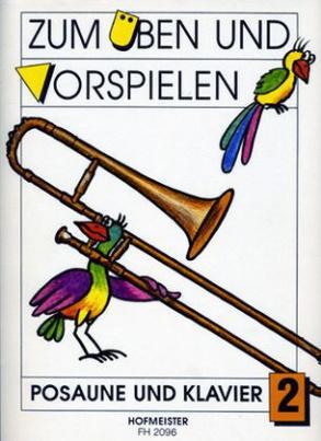 Zum Üben und Vorspielen, Posaune + Klavier. H.2