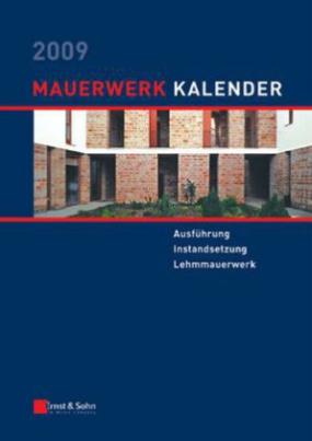 Mauerwerk-Kalender 2009