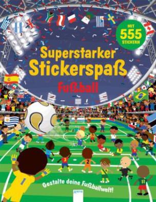 Superstarker Stickerspaß. Fußball