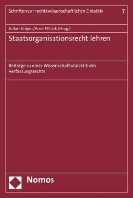 Staatsorganisationsrecht lehren