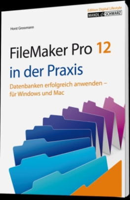 FileMaker Pro 12 in der Praxis