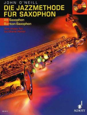 Die Jazzmethode für Saxophon (Alt-/Bariton-Saxophon), m. Audio-CD