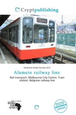 Alamein railway line