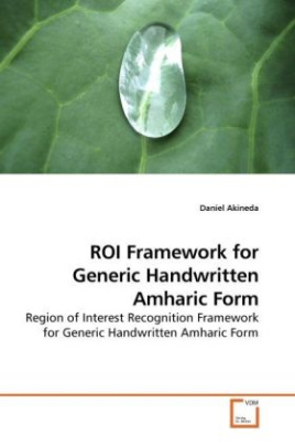 ROI Framework for Generic Handwritten Amharic Form