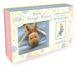 Peter Rabbit - Book and Snuggle Blanket