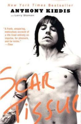 Scar Tissue, English edition