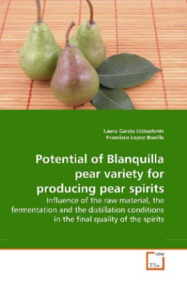 Potential of Blanquilla pear variety for producing pear spirits