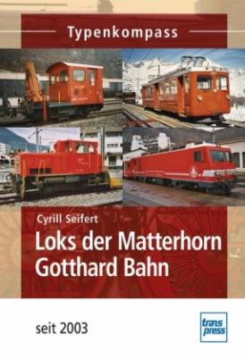 Loks der Matterhorn Gotthard Bahn
