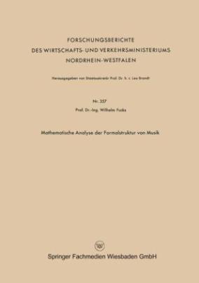 Mathematische Analyse der Formalstruktur von Musik