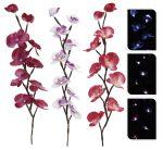 Deko Orchideen mit LED 65cm 3er-Set