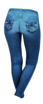 Leggings für Damen im Jeanslook Größe M