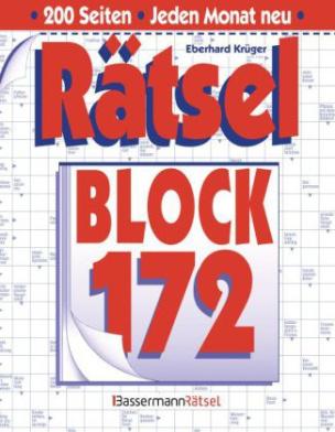 Rätselblock. Bd.172