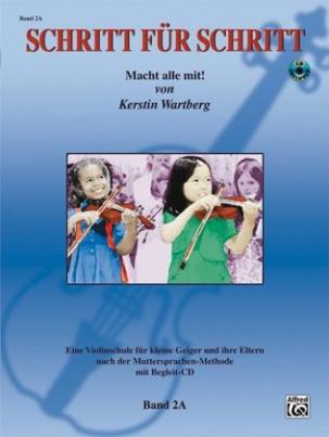 Schritt für Schritt. Macht alle mit!, für Violine, m. Audio-CD. Bd.2A