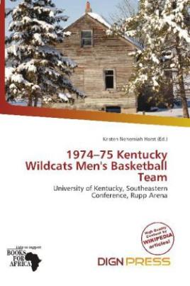 1974 75 Kentucky Wildcats Men's Basketball Team