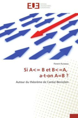 Si A= B et B=A, a-t-on A=B ?