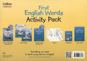 First English Words Activity Pack
