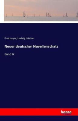Neuer deutscher Novellenschatz