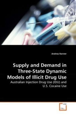 Supply and Demand in Three-State Dynamic Models of Illicit Drug Use
