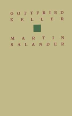 Gottfried Keller Martin Salander