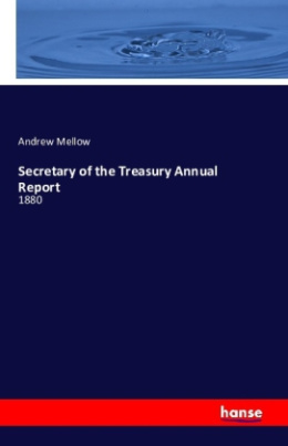 Secretary of the Treasury Annual Report