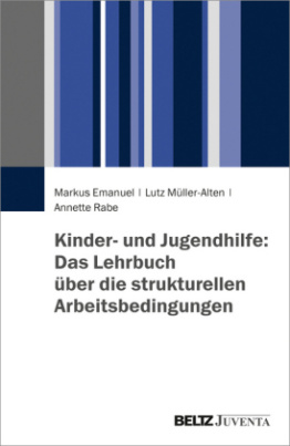 Kinder- und Jugendhilfe: Das Lehrbuch über die strukturellen Arbeitsbedingungen