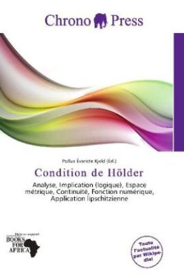 Condition de Hölder