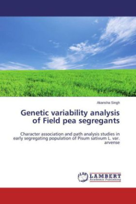 Genetic variability analysis of Field pea segregants