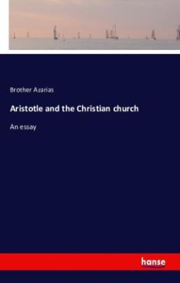 Aristotle and the Christian church