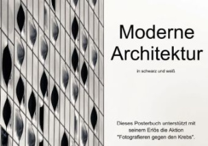 Moderne Architektur in schwarz und weiß (Posterbuch DIN A4 quer)