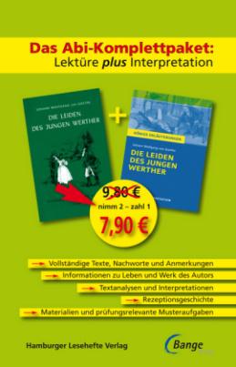 Das Abi-Komplettpaket: Lektüre plus Interpretation - Die Leiden des jungen Werther