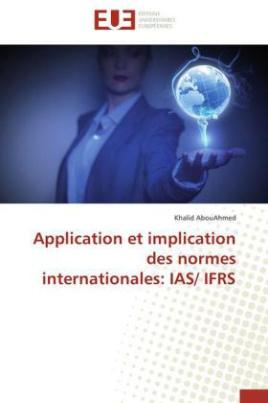 Application et implication des normes internationales: IAS/ IFRS
