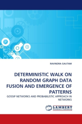 Deterministic Walk on Random Graph Data Fusion and Emergence of Patterns