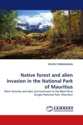 Native forest and alien invasion in the National Park of Mauritius