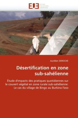 Désertification en zone sub-sahélienne