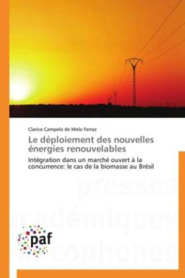 Le déploiement des nouvelles énergies renouvelables