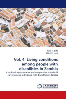 Vol. 4. Living conditions among people with disabilities in Zambia