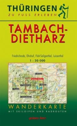 Wanderkarte Tambach-Dietharz