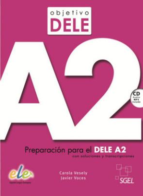 Objetivo DELE A2, m. Audio-CD