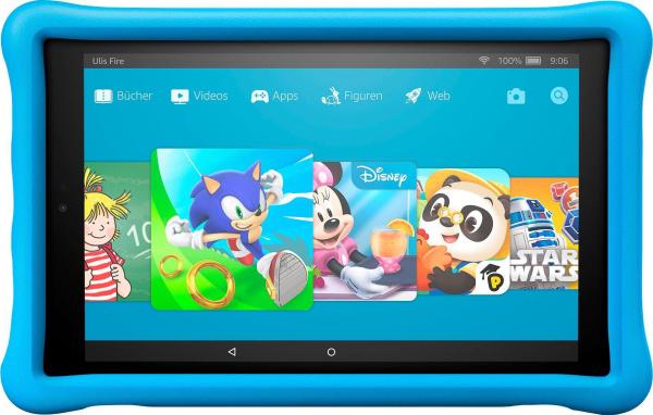 "FIRE Kinder-Tablet ""HD 10 Kids Edition"" (10,1 Zoll, 32 GB, WiFi)"