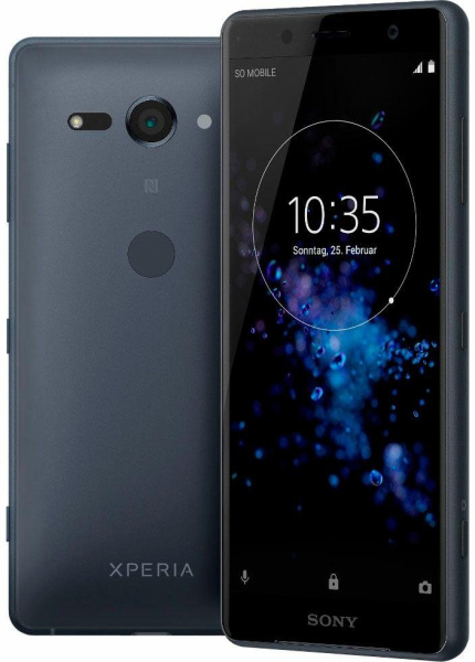 "SONY Smartphone ""Xperia XZ2 compact"" (5 Zoll, 64 GB, Android, LTE, schwarz, 2018)"