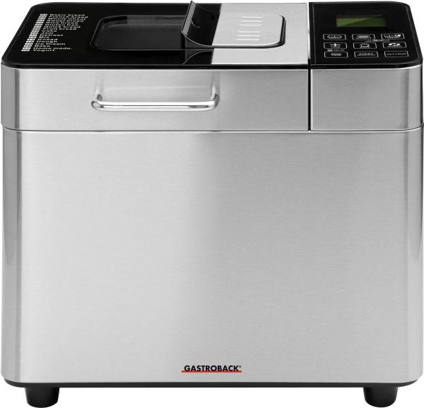 """GASTROBACK Brotbackautomat """"42823 Advanced"""" (18 Programme)"""