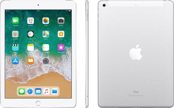 """APPLE Tablet """"iPad"""" (9,7 Zoll, Wi-Fi + Cellular, 32 GB, 6. Generation, silberfarben)"""