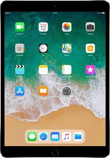 "APPLE Tablet ""iPad Pro"" (10,5 Zoll, Cellular, 64 GB, grau, 2017)"
