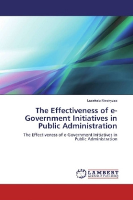 The Effectiveness of e-Government Initiatives in Public Administration
