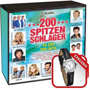 200 Spitzenschlager + Gratis Armbanduhr