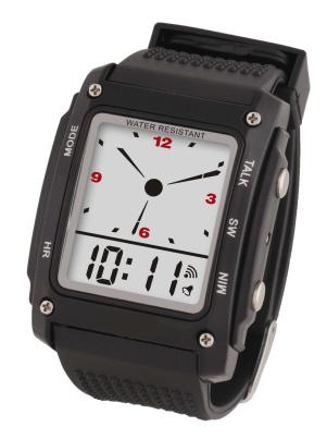 Sprechende Armbanduhr digital
