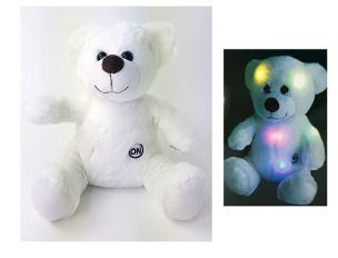 Teddybär mit LED Licht und Farbwechsel