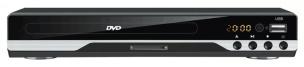 DVD Player schwarz/silber