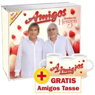 Melodien der Herzen + GRATIS Amigos Tasse