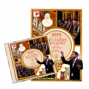 Neujahrskonzert 2019 CD+DVD-Paket